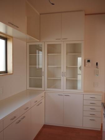 オリジナルのキッチン収納