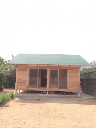 木製仮説住宅