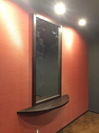 VIPルーム鏡