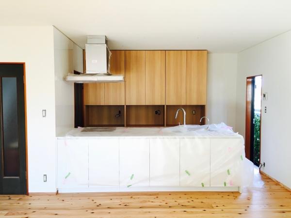 キッチン収納棚改造