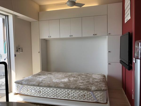 ベッド収納家具