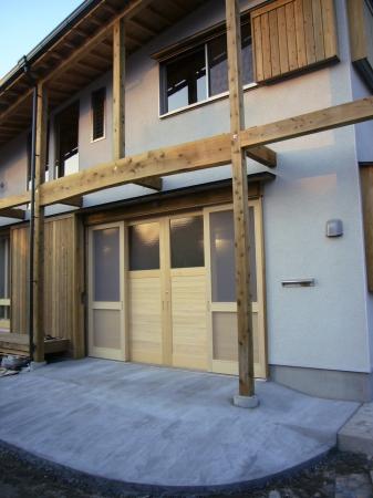 木製 玄関